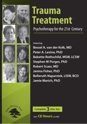 Trauma Treatment: Psychotherapy for the 21st Century DVD Cover
