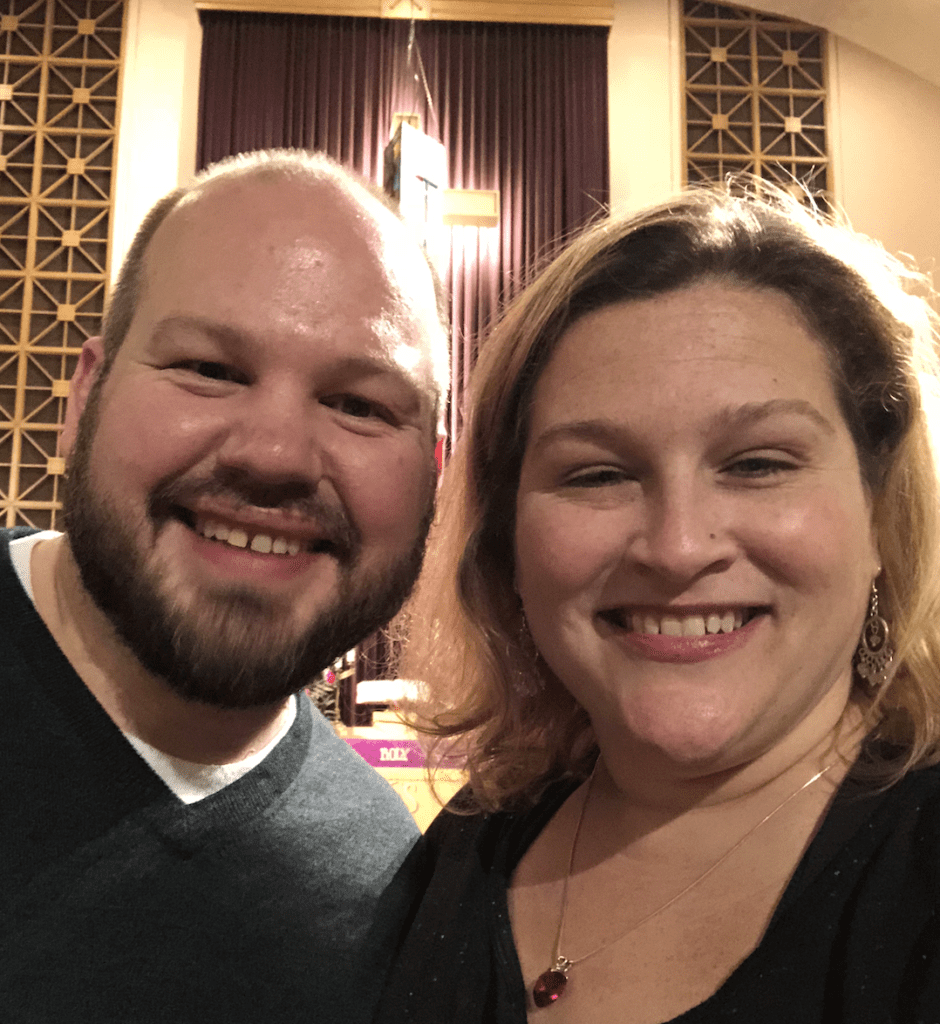Dr. Jamie and Jason in 2018