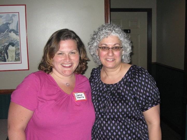 Jamie and Mrs. Dohar in 2010, photo courtesy of the author.
