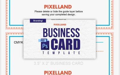 Business Card Guide – PSD