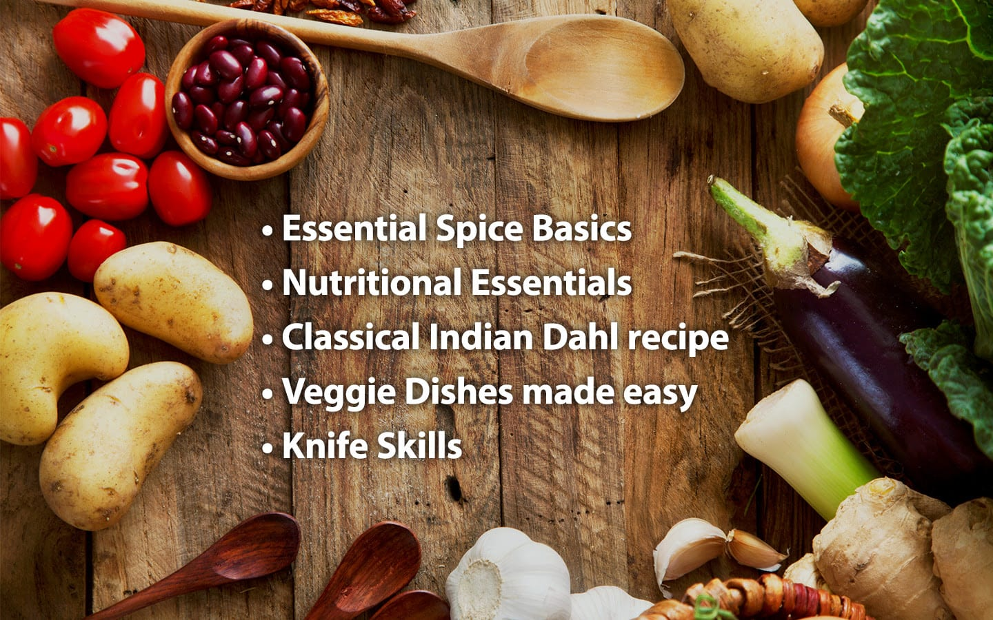 Basic features of the vegetarian cooking wellness retreat at the Amrit Yoga Institute