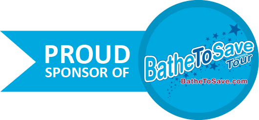 We are a proud sponsor of Bathe to Save Tour because we love dogs!