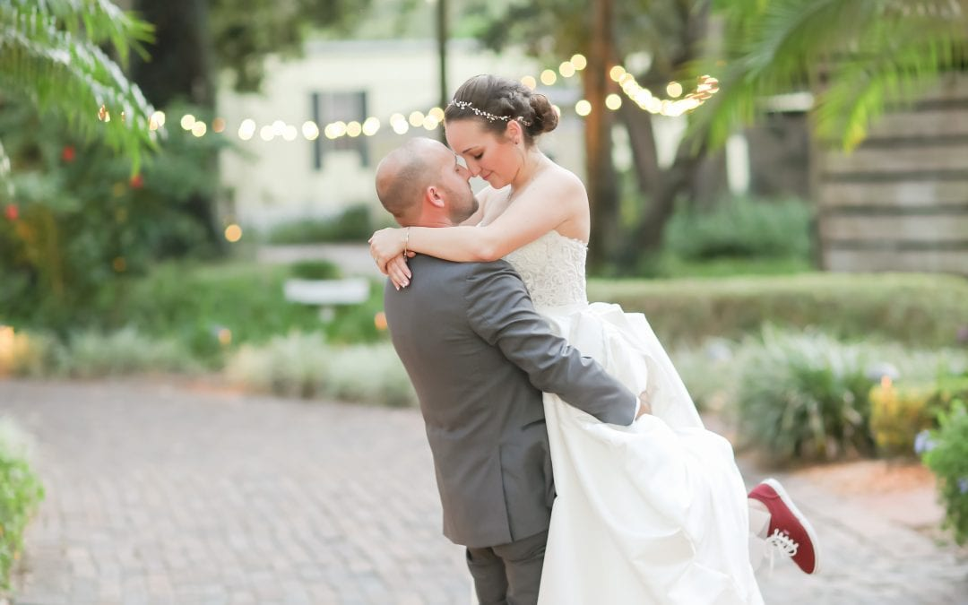 Laura + Anthony's Whimsical Burgundy Wedding