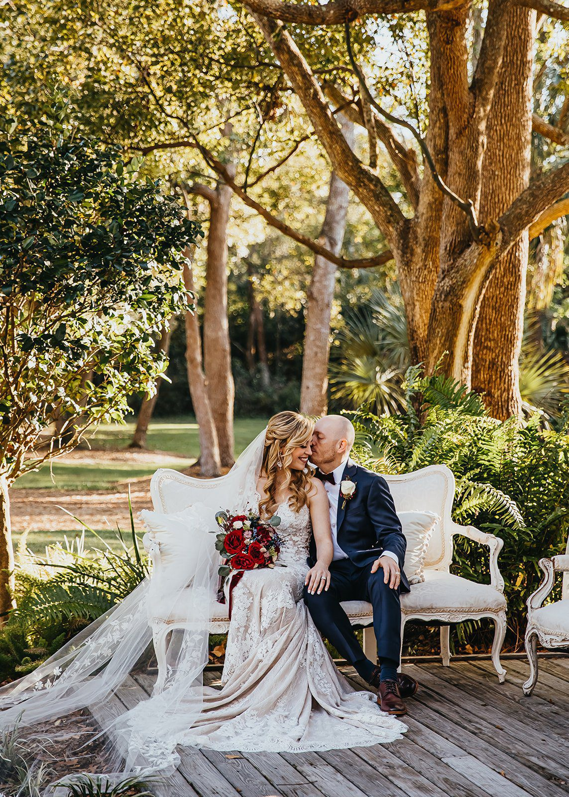 Brittany + Michael's Enchanting Chapel Wedding