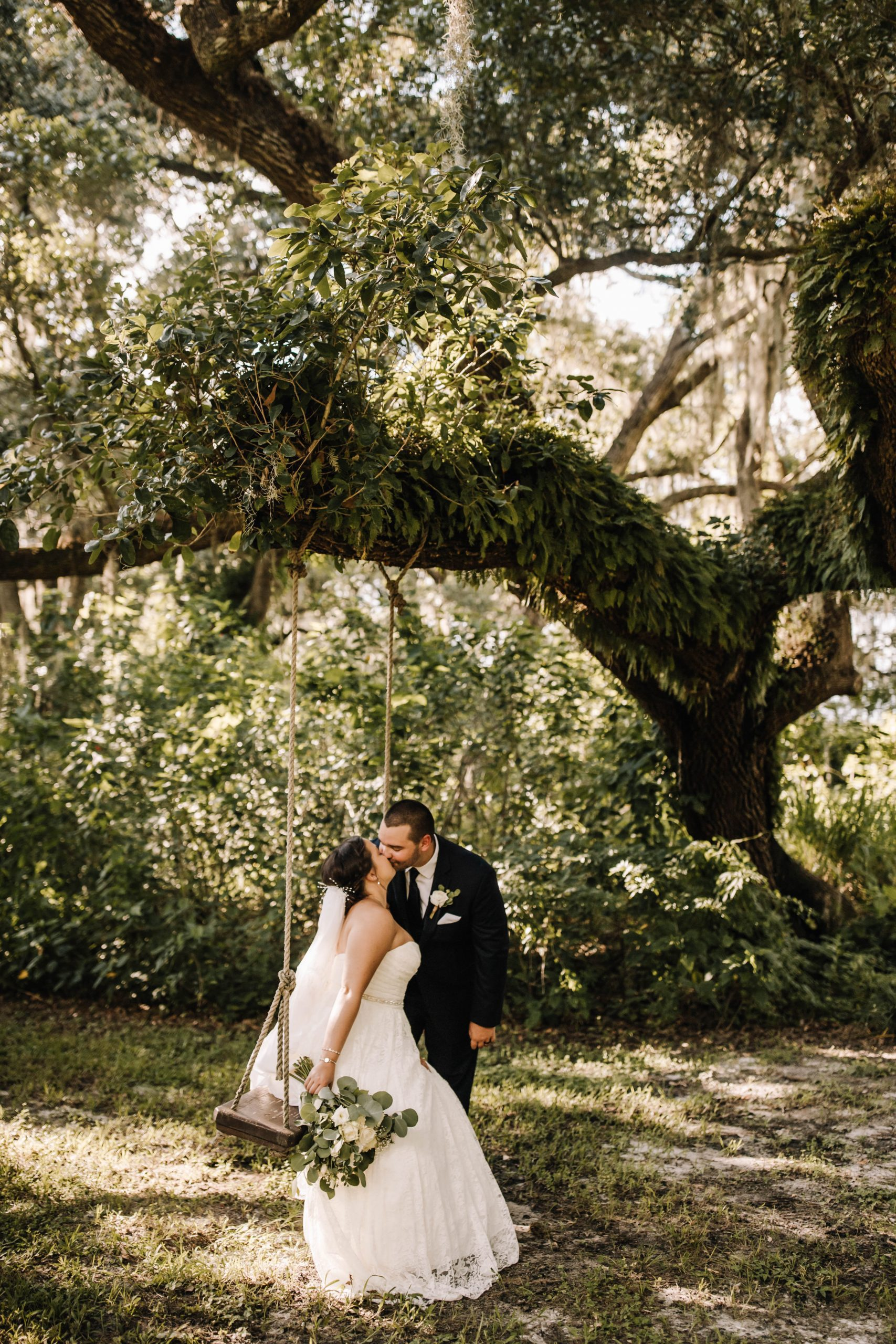 Ashlyn + Chris's Neutral Rustic Wedding