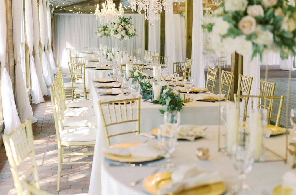 Elegant Inspiration At A Rustic Wedding Venue