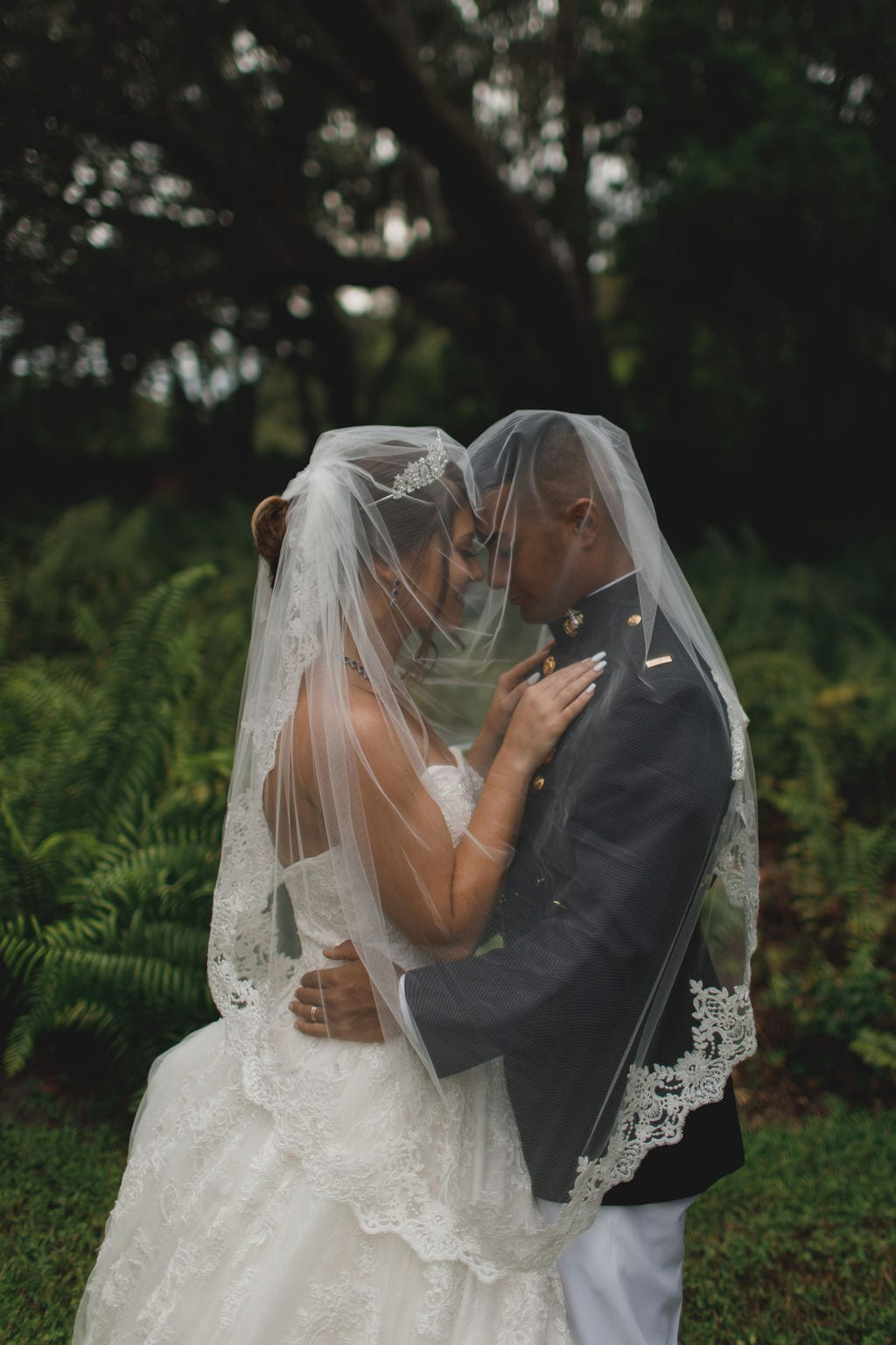 Savannah + Koji's  Neutral Elegant Wedding
