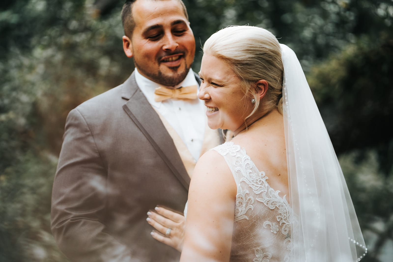 Wedding portrait at the French Country Inn